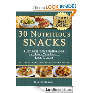 Post image for Amazon Free Book Download: 30 Nutritious Snacks