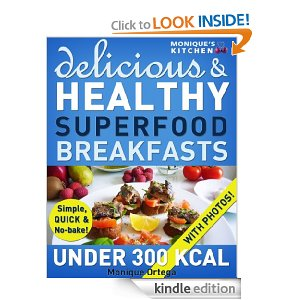 Post image for Amazon Free Book Download: 52 Delicious & Healthy SUPERFOOD Breakfasts Under 300 Calories