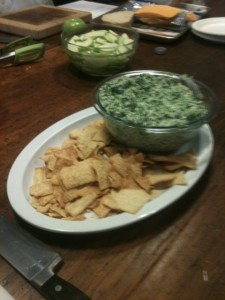 Post image for Edamame & Spinach Dip Recipe #EEinNYC
