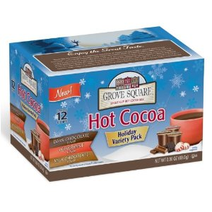 Post image for Grove Square Hot Cocoa Cups Variety Pack Keurig K-Cup Brewers, 12-Count $3.88 Shipped