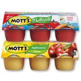 motts applesauce