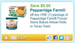 Post image for $.50/1 Pepperidge Farm Artisan Rolls