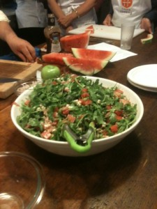 Post image for Watermelon & Prosciutto Salad #EEinNYC