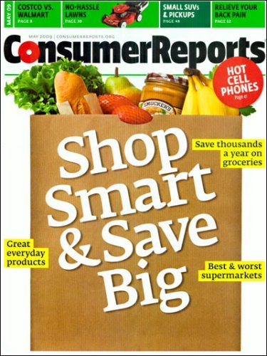 Post image for Consumer Reports Magazine – One Year For $19.95