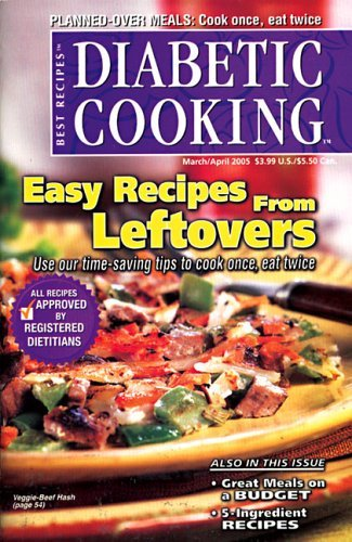 Post image for Diabetic Cooking Magazine – $8.89/Year