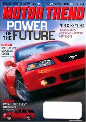 Post image for Motor Trend Magazine – $3.99/Year