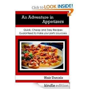 Post image for Amazon Free Book Download: An Adventure in Appetizers… (Cookbook)