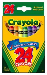 Post image for Toys R Us Or Walmart Price Match: Crayola 24 Count Crayons $.25
