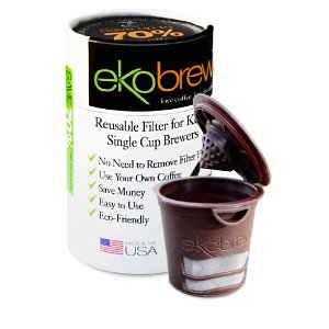 Post image for Amazon Daily Deal: 25% off Ekobrew Refillable K-Cups