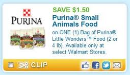 Post image for Little Wonders Little Pet Food Coupon