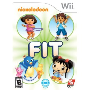 Post image for Amazon: Nickelodeon Wii Fit $15.03