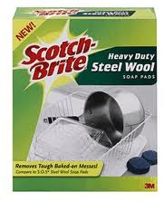 Post image for New Printable Coupon: $0.25 off 1 Scotch-Brite Steel Wool Soap Pad