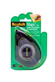 Post image for New Coupon: $1.00 off 1 Scotch Magic Tape One-Handed Dispenser