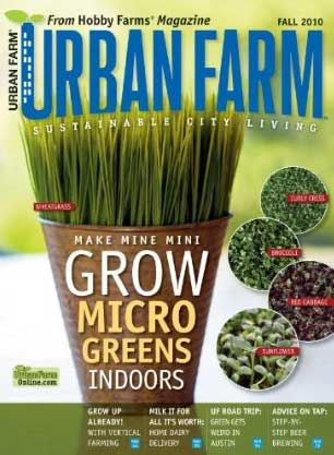 Post image for Urban Farm Only $4.50 For One Year Subscription