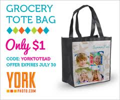 Post image for York Photo: Personalized Tote Bag $4.99 Shipped