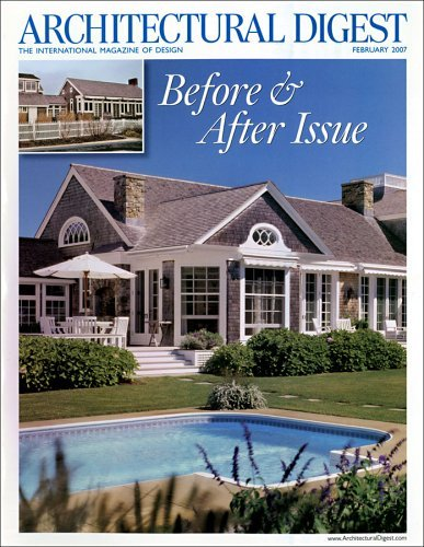 Post image for Architectural Digest Magazine – $5.99/Year (8/11 Only)