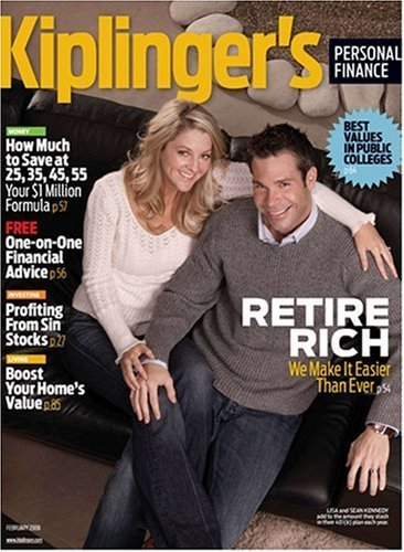 Post image for Kiplingers Personal Finance Magazine – $6.99 For One Year