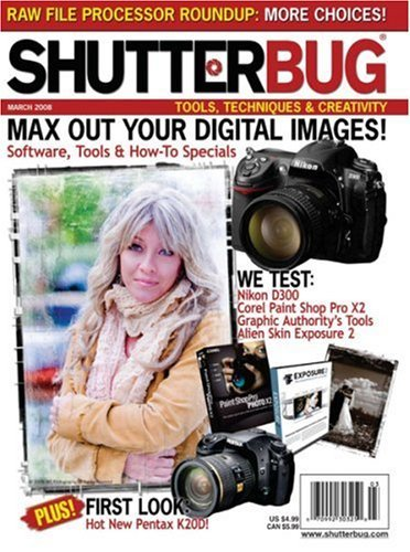 Post image for Shutterbug Magazine – $9.99/Year