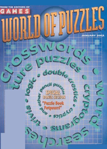 Post image for Games World of Puzzles – $9.98 For One Year