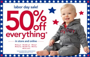 Post image for Carters: 50% Off The Entire Site Plus 25% off $40 or More