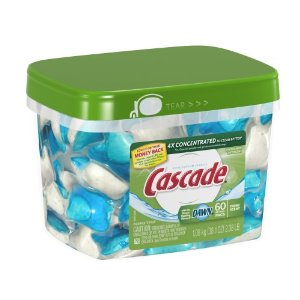 Post image for Amazon: Cascade Action Pacs 60 ct $9.42