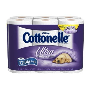 Post image for Walgreens: Cottonelle Bathroom Tissue 12 Count $2 Each