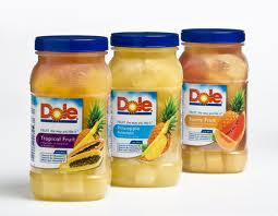 Post image for New Coupon: $1/2 DOLE All Natural Fruit Jars
