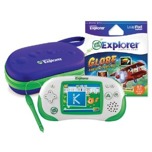 Post image for Amazon: LeapFrog Leapster Explorer Grade School Globe-Trotter Pack $48.18