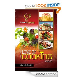 Post image for Amazon Free Book Download: Love of Cooking: Salads