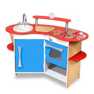 Post image for Amazon: Melissa & Doug Cook's Corner Wooden Kitchen $69.98