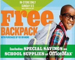 Post image for Old Navy: Free Back Pack With $50 Purchase (8/5)