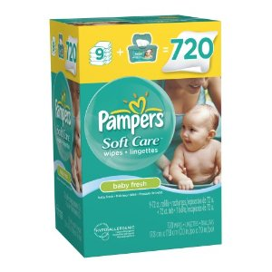 Post image for Amazon: 720 Pampers SoftCare Baby Wipes $.02 Each