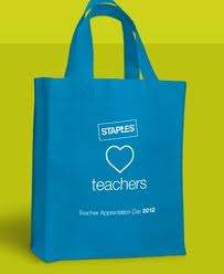 Post image for Staples: Teacher Appreciation Day 2012