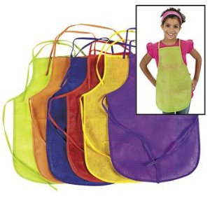 Post image for Amazon: 12 Children Artist's Aprons $9.15