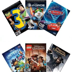 Post image for Amazon: 6 Disney Video Game Kit $8.99 (Less than $2 a Game)