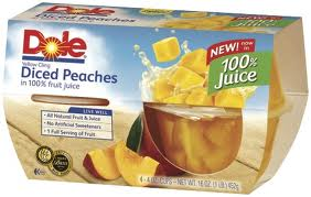 Post image for Coupon: $.55/2 Dole 100% Fruit Cups (Harris Teeter Deal)
