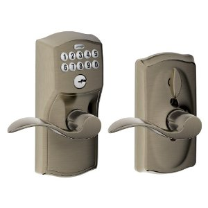 Post image for Amazon: Schlage Camelot Keypad Lever Door Locks $94.99
