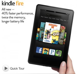 Post image for GONE: Amazon Deal of the Day: $50 Off Kindle Fire H.D.