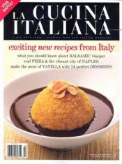 Post image for La Cucina Italiana Magazine Only $4.99 Per Year – 10/18
