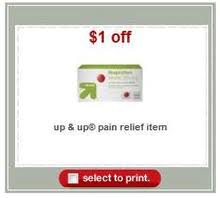 Post image for Target: Free Up & Up Ibuprofen