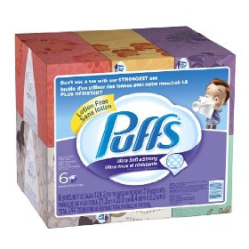Post image for Amazon:  Puffs Ultra Soft Facial Tissues $1.40 Per Box Shipped