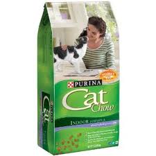 purina cat chow bag