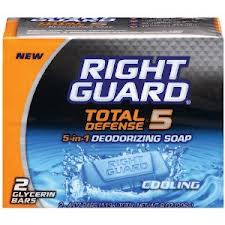 Post image for Right Guard Bar Soap $.48 Each At Walmart