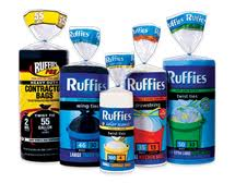 Post image for New Printable Coupon: $.50/1 Ruffies Trash Bags ($1.12 at Walmart)
