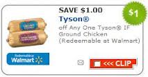 Post image for Walmart: Tyson Ground Chicken $1.58