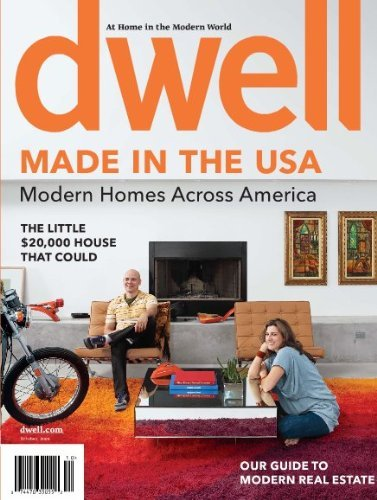 Post image for Dwell Magazine Only $5.99 Per Year – 10/16