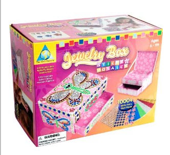 Post image for Amazon: Orb Factory Sticky Mosaics Jewelry Box – $12.10