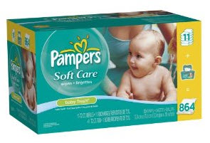 Post image for Amazon: Pampers Soft Care Wipes $.01 Each Shipped