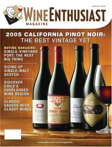 Post image for Wine Enthusiast Magazine For Only $8.99 Per Year