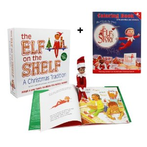 "Post image for Elf On The Shelf ""Boy Elf"" $29.95"